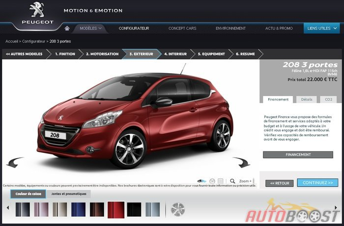 car design scoop scoop et dernieres infos automobile nouvelle peugeot 208 commercialis e. Black Bedroom Furniture Sets. Home Design Ideas