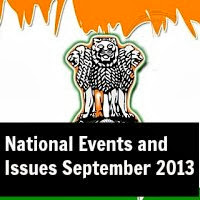 National Events and Issues September 2013
