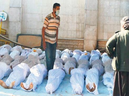 Tentera Bashar al-Assad Melepaskan Gas Beracun 500 Mati Di Syria?