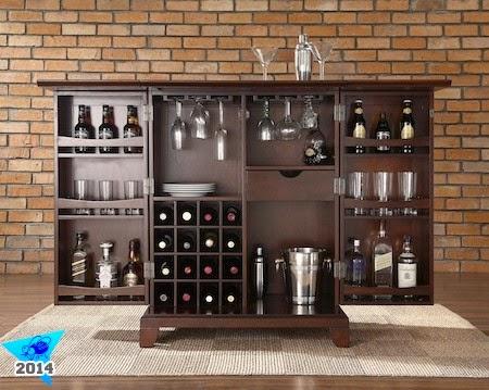 Mis chupitos del mundo 5 consejos para tener el mueble for Mueble bar moderno para casa