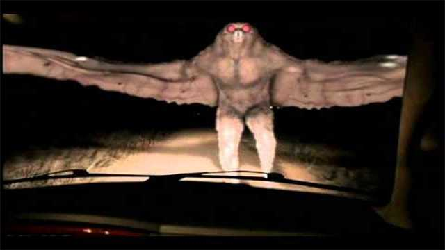 Mothman Caught On Camera In Argentina?