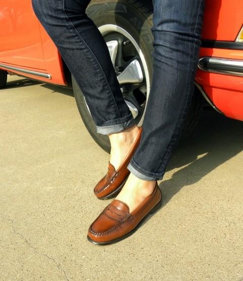 Mens Penny Loafer Dress Shoes