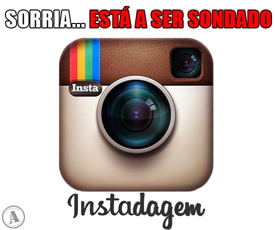 """Símbolo do Instagram – Sorria… Está a ser sondado! """"Instadagem"""""""