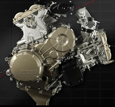 2012 Ducati 1199 Panigale engine