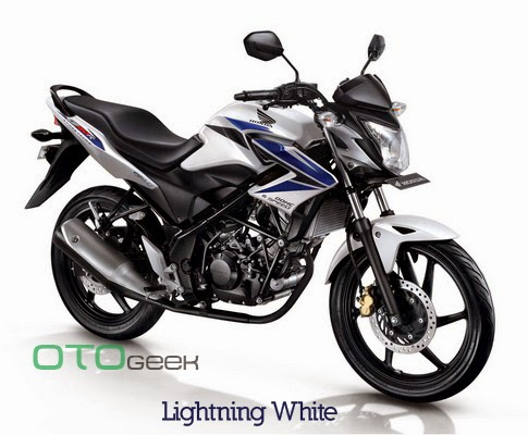 Honda CB150R Streetfire Lightning White