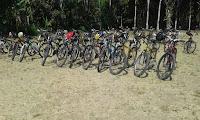 Bersepeda di Ubud Bali