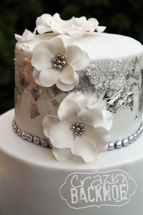 Crazy Backnoe Hochzeit In Silber