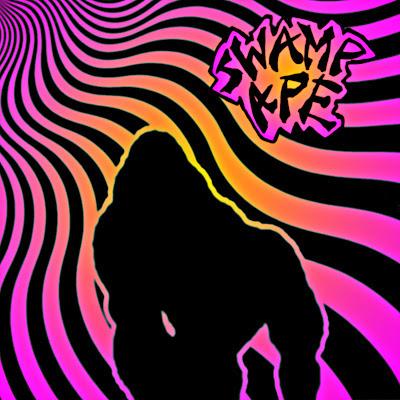 Swamp Ape, one man band, surf metal, ape, blair menace, comedy album, novelty album, skunk ape