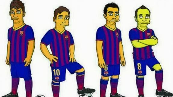 simpsons fc barcelona