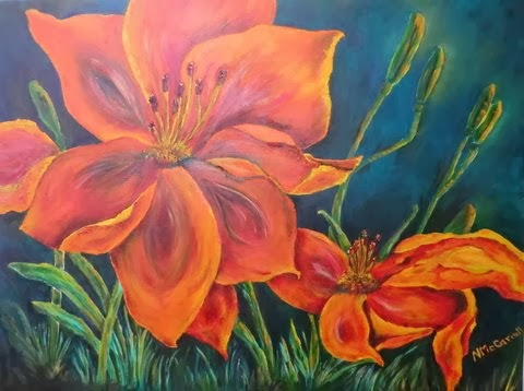 Day Lily in Orange