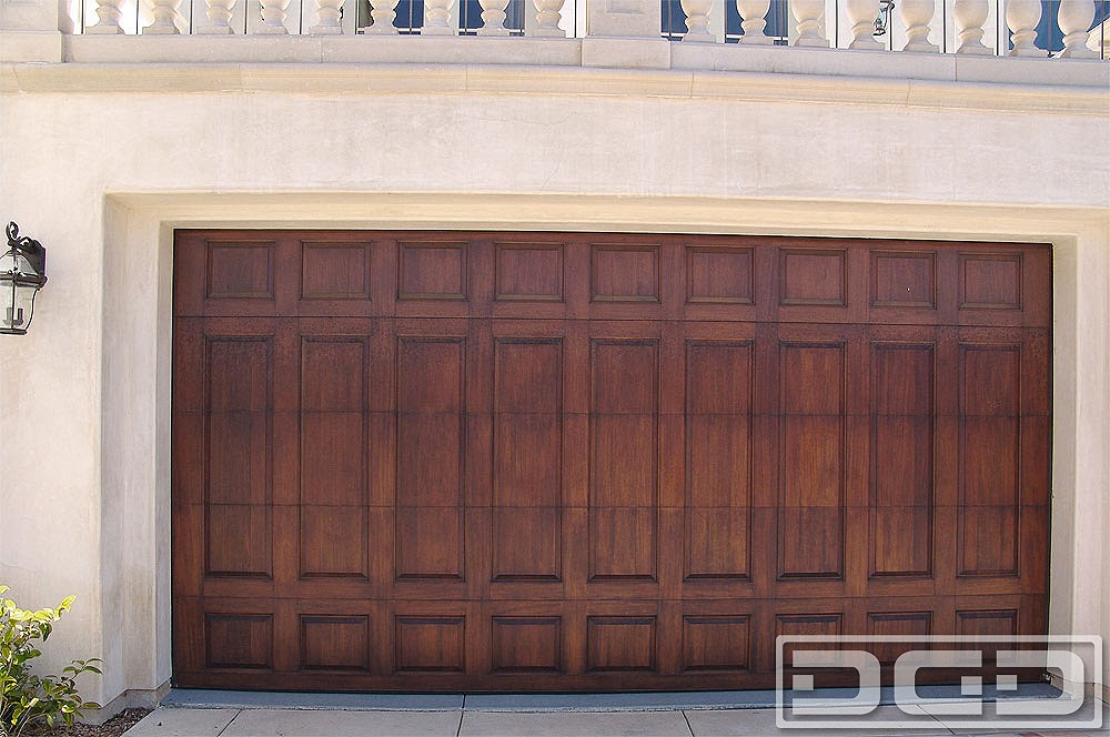 European Style Wood Garage Doors