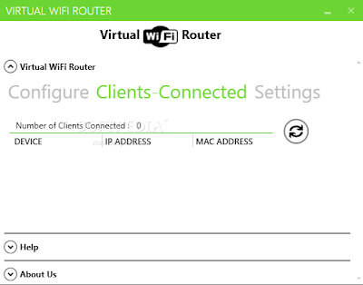 Free Windows 7 WiFi Tethering Software | Virtual WiFi Router