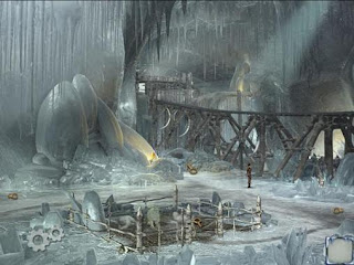 Screenshots of the Syberia 2 for Android tablet, phone.