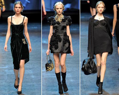 modnue platya dg03 Модні сукні від Dolce & Gabbana