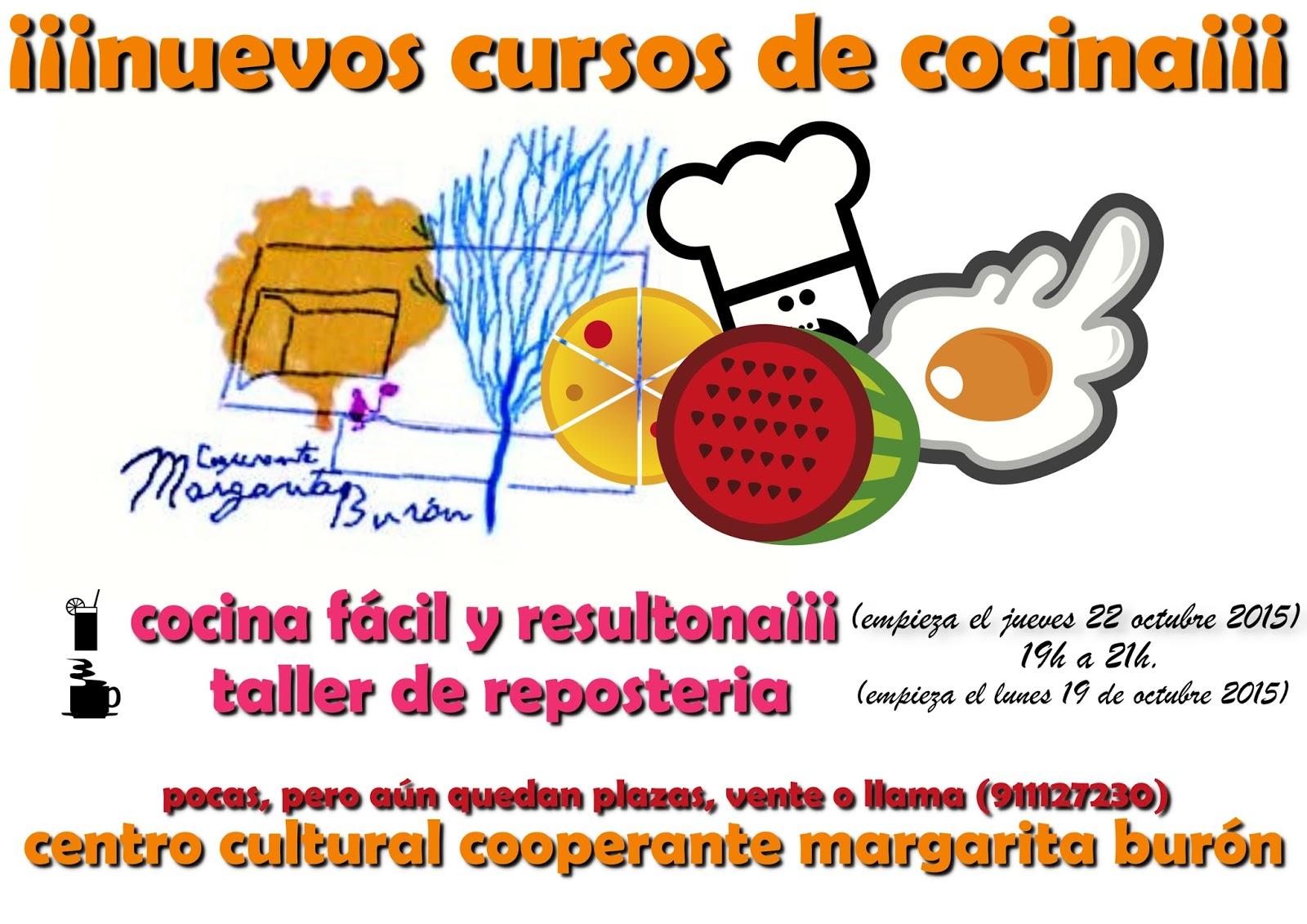 Comenzado el mes de octubre os presentamos dos nuevos - Cursos de cocina sabadell ...