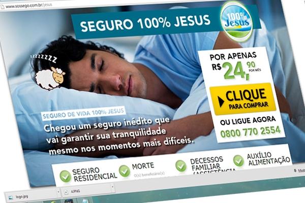 Seguro 100% Jesus igreja mundial