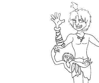 #1 The Croods Coloring Page