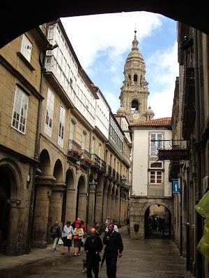Rua do Vilar in Santiago de Compostela