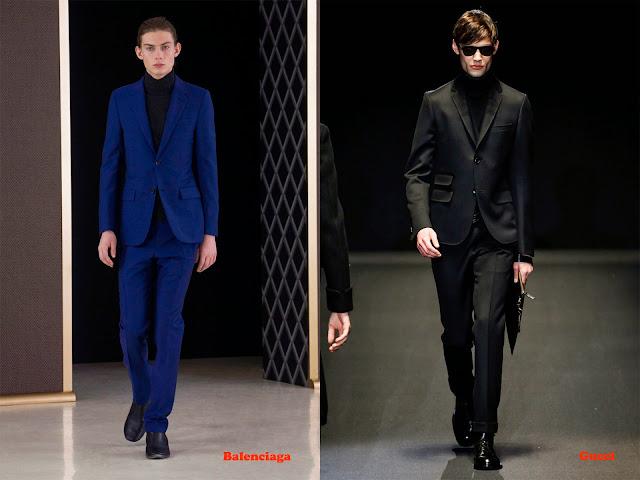 Tendencia otoño_invierno 2013-14 cuello vuelto: Balenciaga y Gucci