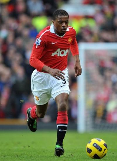 Patrice Evra Manchester United Defender Left Back 2011-2012