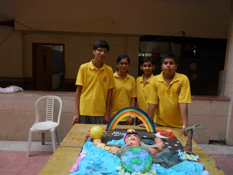 Art beat group effors in making the best out of waste on for Best out of waste topics