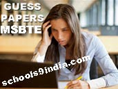 MSBTE Question Papers Summer Exam Previous Papers Download, MSBTE Previous Papers of 1st sem, 2nd, 3rd, 4th sem, 5th, 6th semester Model Question Papers