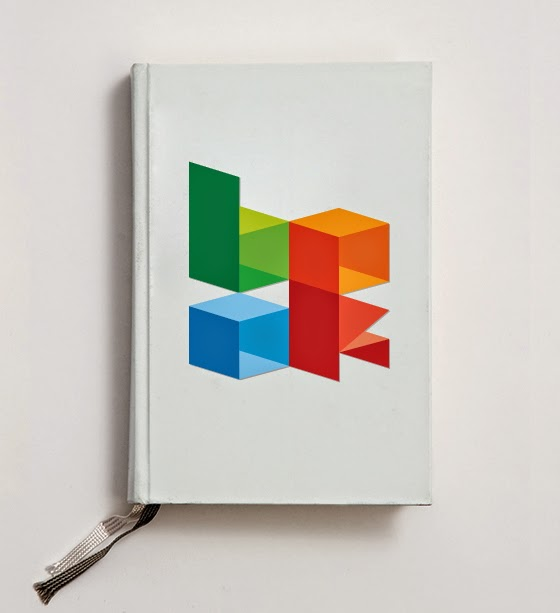 cube creative font