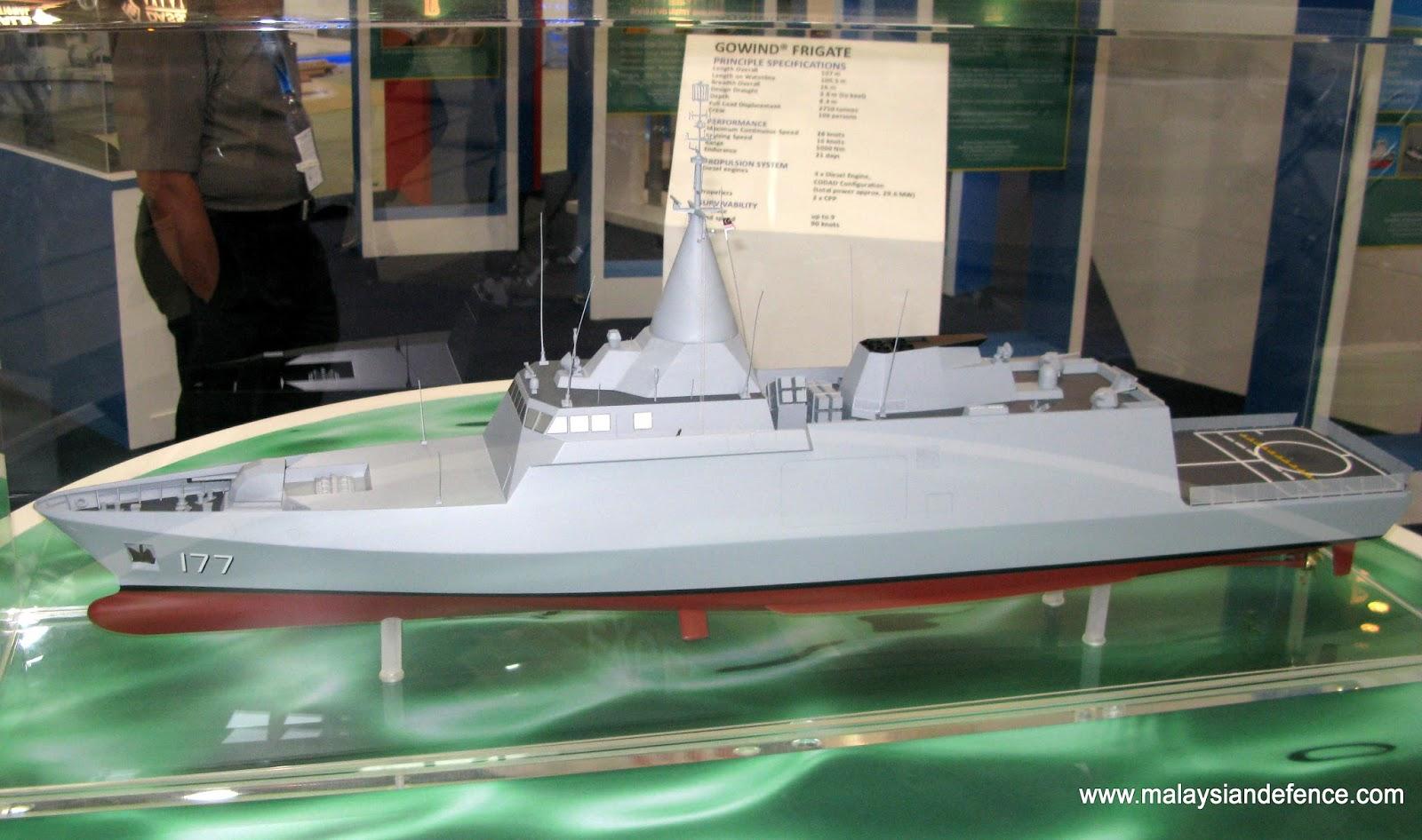 Malaysian Navys SGPV LCS