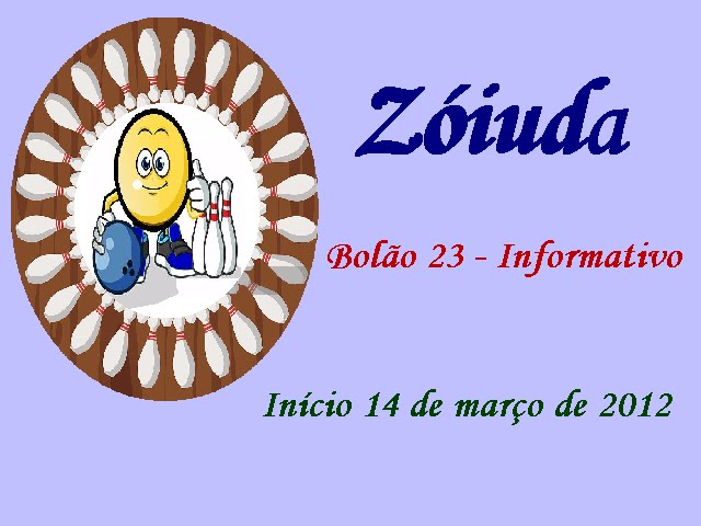 Bolão 23 Informativo