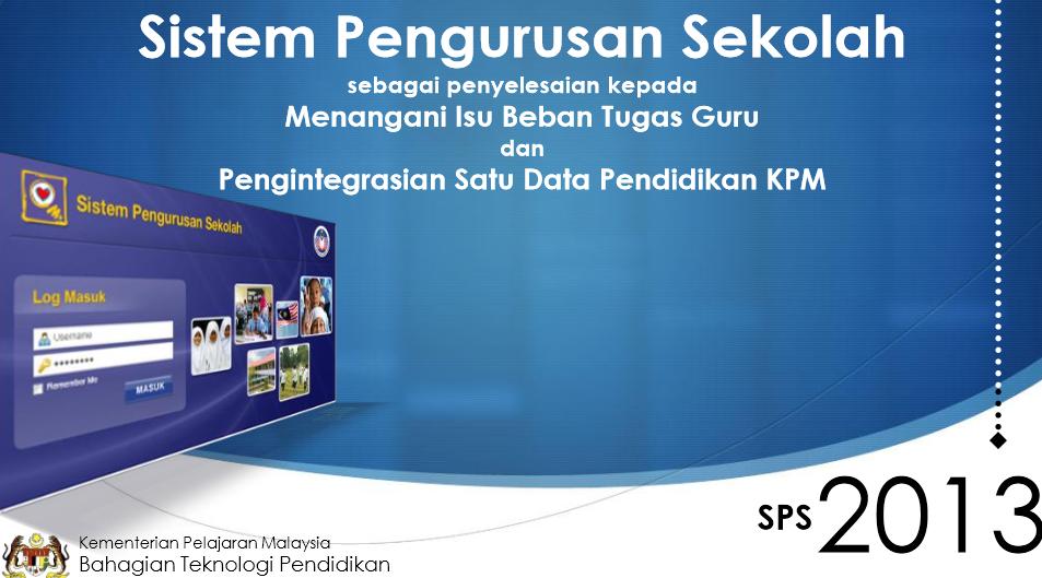 8 Sistem Pengurusan Sekolah SPS