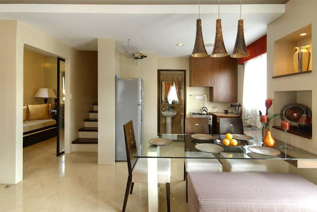 Olive model house of parc regency residences of pro friends in ungka 2 pavia iloilo Condo kitchen design philippines