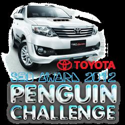 SEO AWARD 2012 TOYOTA PENGUIN CHALLENGE, Fortuner SUV Terbaik