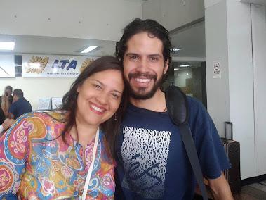 Con mi hijo Armando 18/8/2013