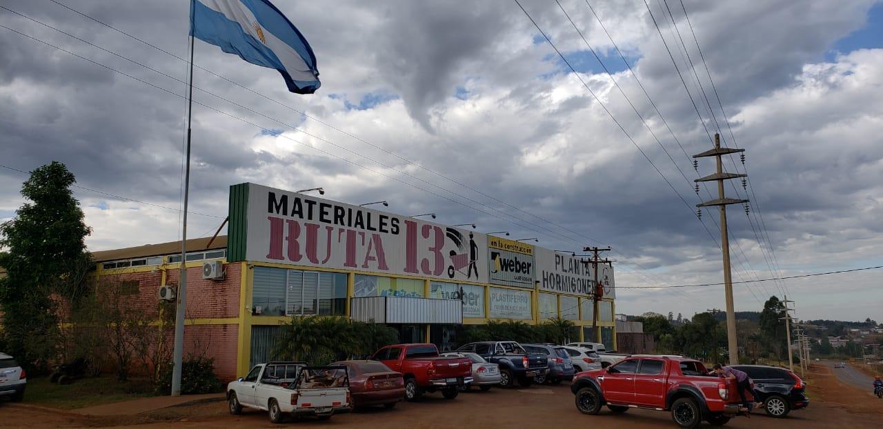 Materiales Ruta 13