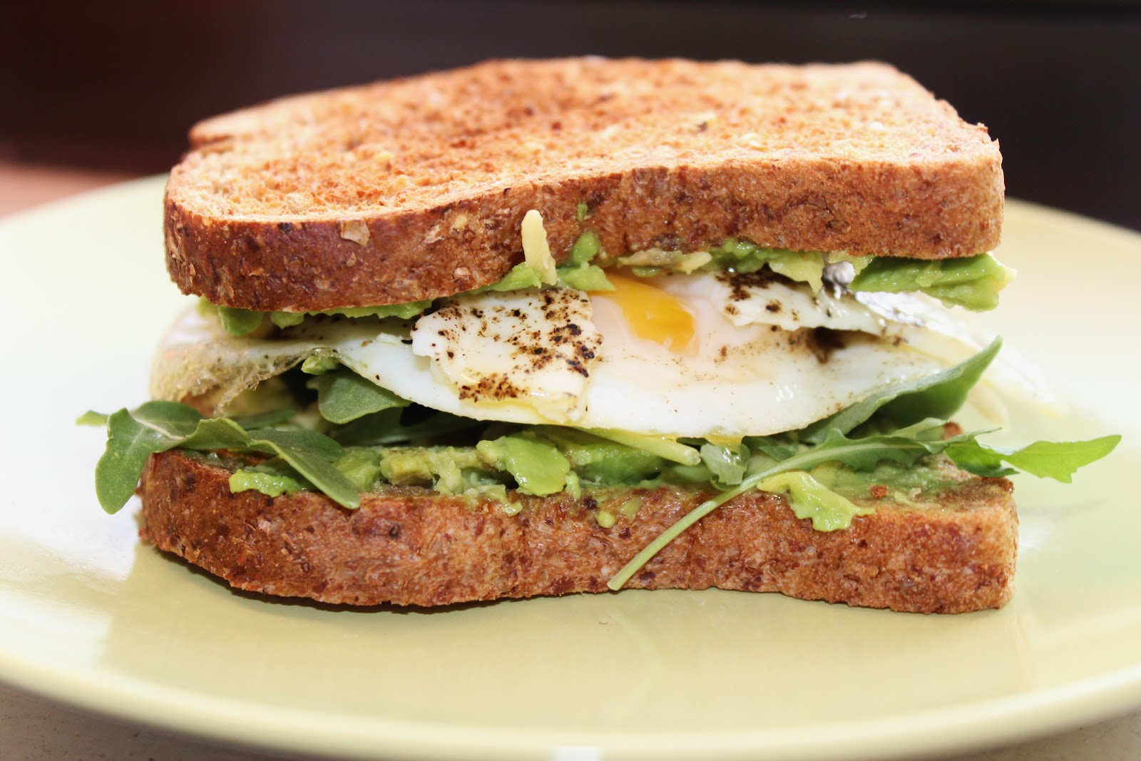 Healthy Avocado Breakfast Healthy Egg And Avocado