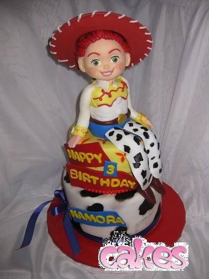 Disney Jessie Birthday Cakes