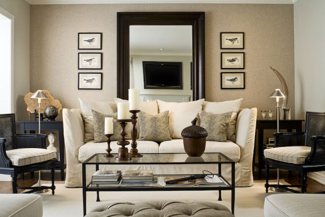Wednesday June 24 2015 & Cup Half Full: Chicago Apartment: Living Room Inspiration