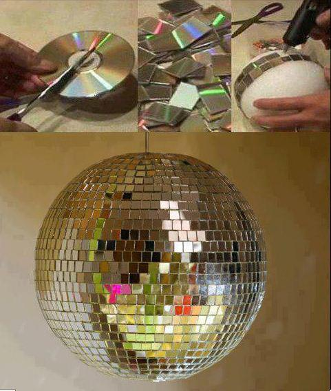 Amazing creativity right use of waste cd 39 s for Waste cd craft ideas