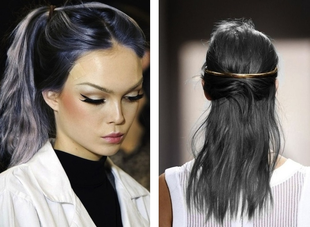 There are a lot of varieties for grey hairstyles i personally like