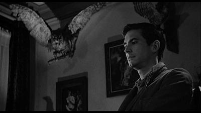 Norman Bates' parlor in Psycho