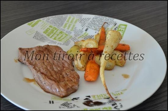 panais carottes rotis