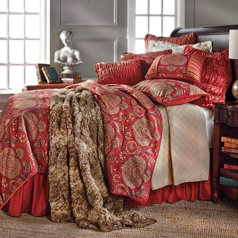 Lorenza Comforter Set, HiEnd Accents Bedding