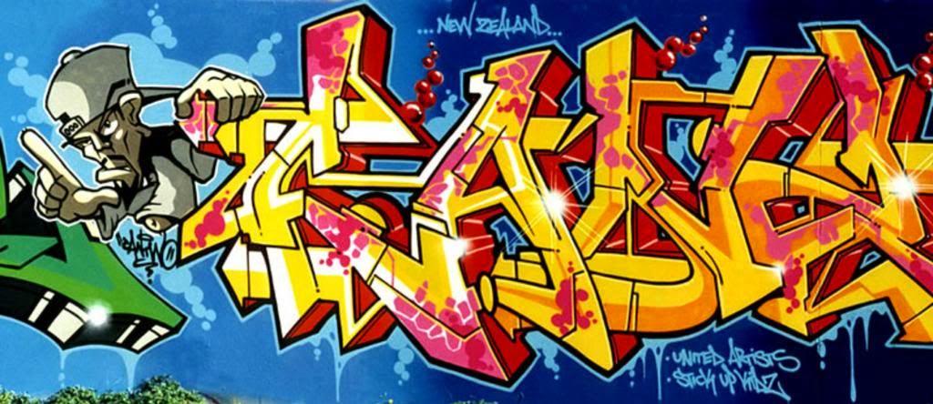 21 Foto Gambar Grafiti Keren - DesainIC - HD Wallpapers