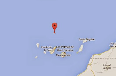 terremoto 4.5 grados aguas de canarias