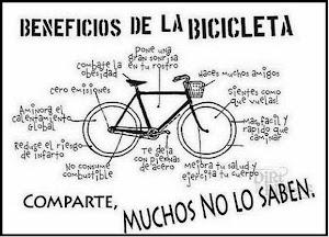 La bici es buena