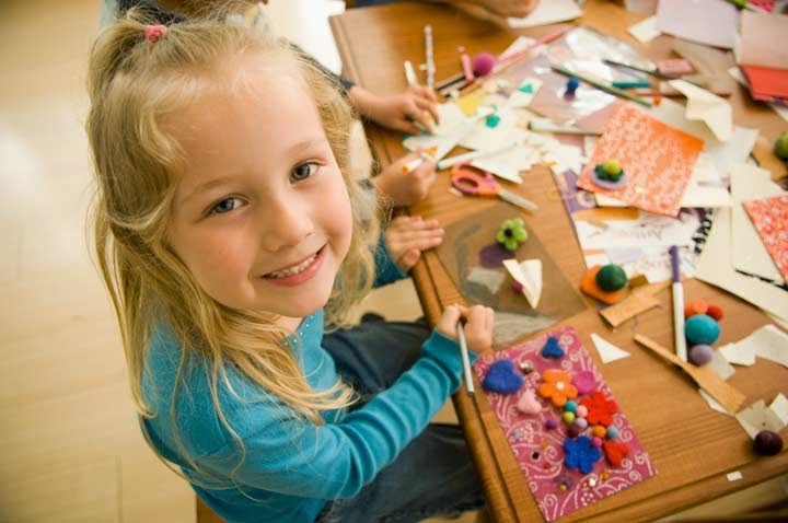 How to Simplify Family Craft Time
