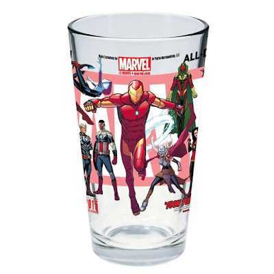 San Diego Comic-Con 2015 Exclusive All-New All-Different Marvel Toon Tumbler Pint Glass
