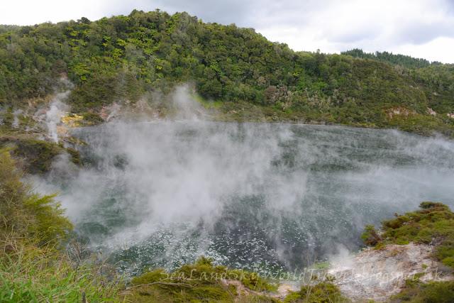 Rotorua, 羅托魯亞, waimangu