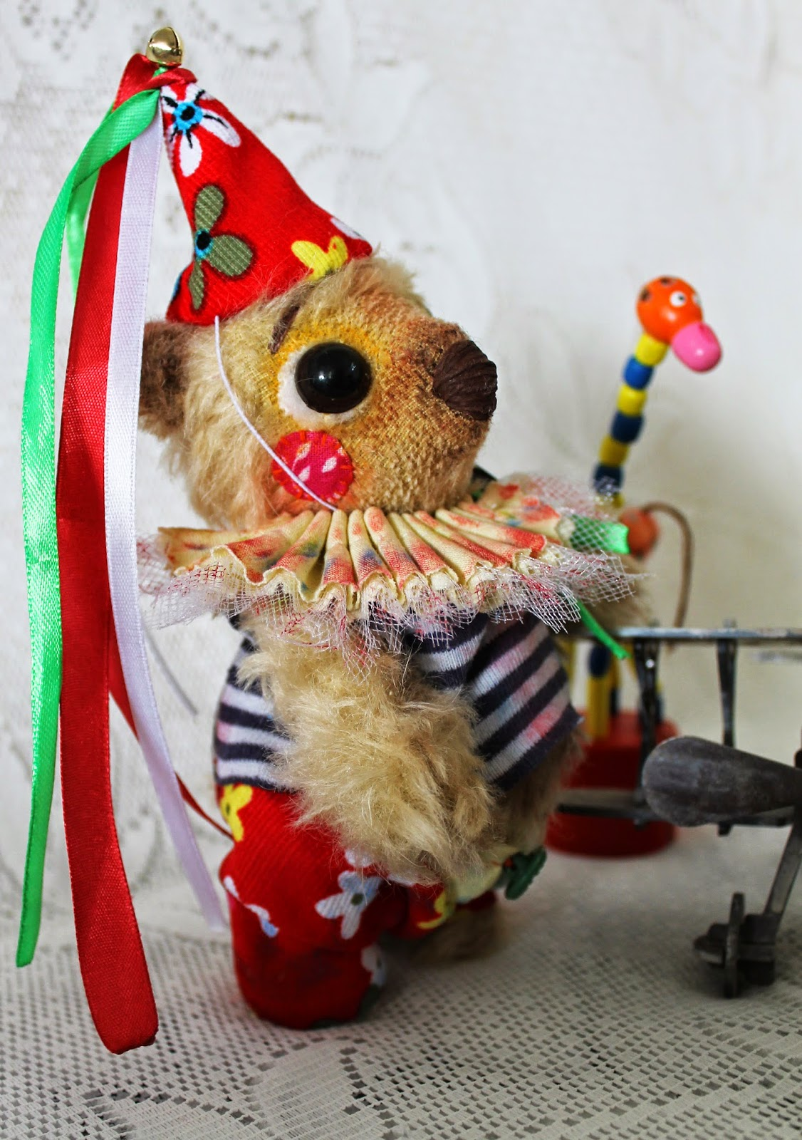 Мишка-тедди клоун
