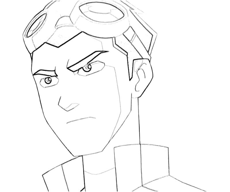 Generator Rex Coloring Pages Name Coloring Page Generator